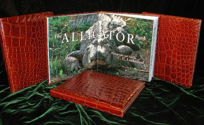 ALLIGATOR SKIN BOOK